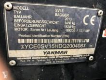Fotók megtekintése Kotrógép Yanmar SV 15