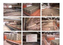 Ceric Complete line for Clay brick / briqueterie d'occasion CERIC,MORANDO,VERDES, 300 a500T/jours (fabrica de ladrios used production units for concrete products
