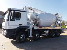 Mercedes new concrete mixer + pump truck