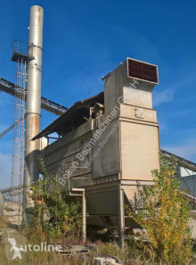 Dedusting/Entstaubung used concrete plant