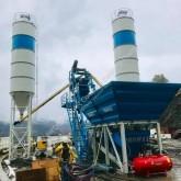 beton Promaxstar Compact Skip Concrete Batching Plant (50m3/h) CS50 / Planetary Mixer