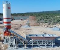 Beton Semix Mobile 60 m3/h Concrete Batching Plant beton santrali yeni