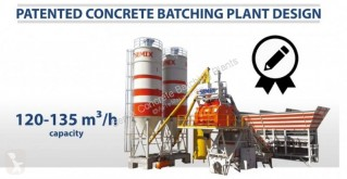 Semix Mobile 120-135 m3/h Concrete Batching Plant