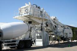 Frumecar ECA 3000 mobile concrete plant betoncenter ny