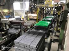 Hormigón unidad de producción de productos de hormigón Schlosserpaving stone production plant