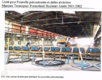 Prensoland TECNOSPAN used production units for concrete products