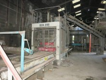 PIERRE & BERTRAND DELTA 3000 used production units for concrete products