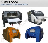 Semix Single Shaft Concrete Mixers 混凝土搅拌机 新车
