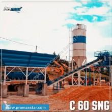 betoniera Promaxstar COMPACT CONCRETE BATCHING PLANT C60-SNG PLUS(60m3/h)