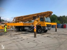 Mercedes concrete pump truck 4141