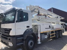 Mercedes AXOR 3340 used concrete pump truck