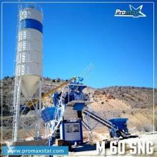 Promaxstar Compact Concrete Batching Plant C60-SNG (60m³/h)