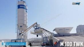 Promaxstar Impianto di Betonaggio Mobile M100-TWN (100m³/h) centrale à béton neuve