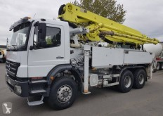 Mercedes AXOR 26.33 used concrete pump truck