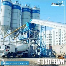 Promaxstar STATIONARY Concrete Batching Plant PROMAX S130-TWN(130m³/h)
