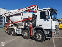 Betoniera Mercedes ACTROS 32.44 cu malaxor si pompa second-hand