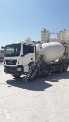 MAN used concrete mixer