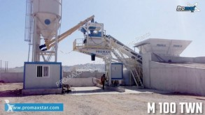 Promaxstar Mobile Concrete Batching Plant M100-TWN (100m3/h)