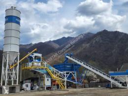 Betonárske zariadenie dávkovacie zariadenie betonárne Promaxstar Central de Betão Móvel M100-TWN (100m³ / h)