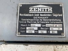 Used production units for concrete products Zenith 940SAZ80132