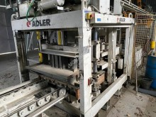 Adler A 320 used production units for concrete products