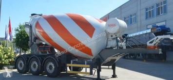 Semix betonkeverő/tartály beton SEMIX TRM12 - Remorque Malaxeur léger