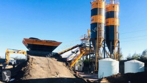 اسمنت Fabo TURBOMIX-100 Mobile Concrete Batching Plant مصنع اسمنت جديد