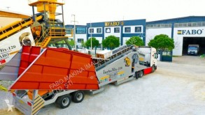 اسمنت Fabo TURBOMIX-110 Mobile Concrete Batching Plant مصنع اسمنت جديد