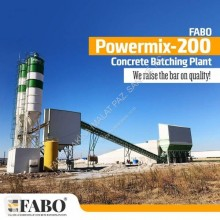 Fabo POWERMIX-200 STATIONARY CONCRETE BATCHING PLANT betoncenter ny