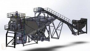 Fabo TURBOMIX-60 MOBILE CONCRETE MIXING PLANT new concrete plant