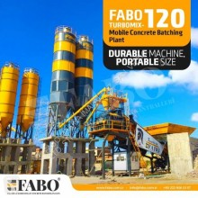 Nieuw beton betoncentrale Fabo TURBOMIX-120 HIGH CAPACITY CONCRETE PLANT