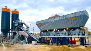 Új betonozó üzem Fabo TURBOMIX-100 CENTRALE A BETON MOBILE 100 M3/H PRET EN STOCK