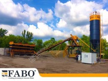 اسمنت Fabo 75m3/h STATIONARY CONCRETE MIXING PLANT مصنع اسمنت جديد