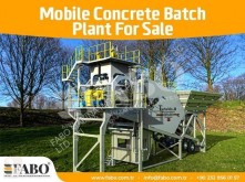 Fabo 60m3/h NEW GENERATION MOBILE CONCRETE PLANT used concrete plant