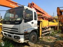 Isuzu concrete pump truck CYZ