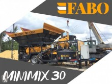 Fabo MINIMIX 30 M3/H MOBILE CONCRETE PLANT EASY TRANSPORT betoncenter ny