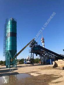 Constmach betonozó üzem 120 m3/h MOBILE CONCRETE PLANT