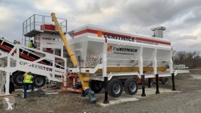 Constmach HORIZONTAL TYPE MOBILE CEMENT SILO betonownia nowy