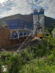 Centrale à béton Promaxstar Compact Concrete Batching Plant C60-SNG LINE (60m³/h)