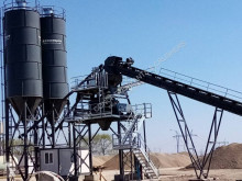 Hormigón planta de hormigón Constmach CENTRALE A BÉTON DE TYPE FIXE D'UNE CAPACITÉ DE 120 m3/h