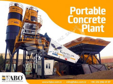 Fabo TURBOMIX-100 MOBILE CONCRETE PLANT READY ON STOCK betoncenter ny