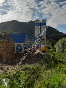 اسمنت مصنع اسمنت Promaxstar Compact Concrete Batching Plant C60-SNG LINE (60m³/h)