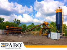 Fabo 75m3/h STATIONARY CONCRETE MIXING PLANT central de betão nova