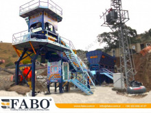 Fabo Betonmischanlage SKIP SYSTEM CONCRETE BATCHING PLANT | 110m3/h Capacity
