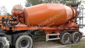 Hormigón mezclador / cuba Liebherr Kumlin naczepa betonomieszarka