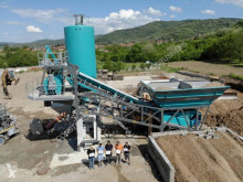 Constmach 30 m3/h FULLY MOBILE CONCRETE PLANT FROM CONSTMACH central de betão nova