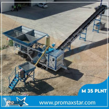 Promaxstar Mobile Concrete Batching Plant M35-PLNT (35m³/h) betonganläggning ny