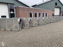 200 kW 12000 m3 / h Air to Air Diesel Kachel Heater Industrial Rental version concrete used