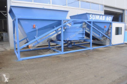 اسمنت Sumab Easily transported! K-60 (60m3/h) Mobile concrete plant مصنع اسمنت مستعمل