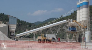 Constmach 120 m3/h CAPACITY STATIONARY TYPE CONCRETE PLANT, 2 YEARS WARRANTY betoncenter ny